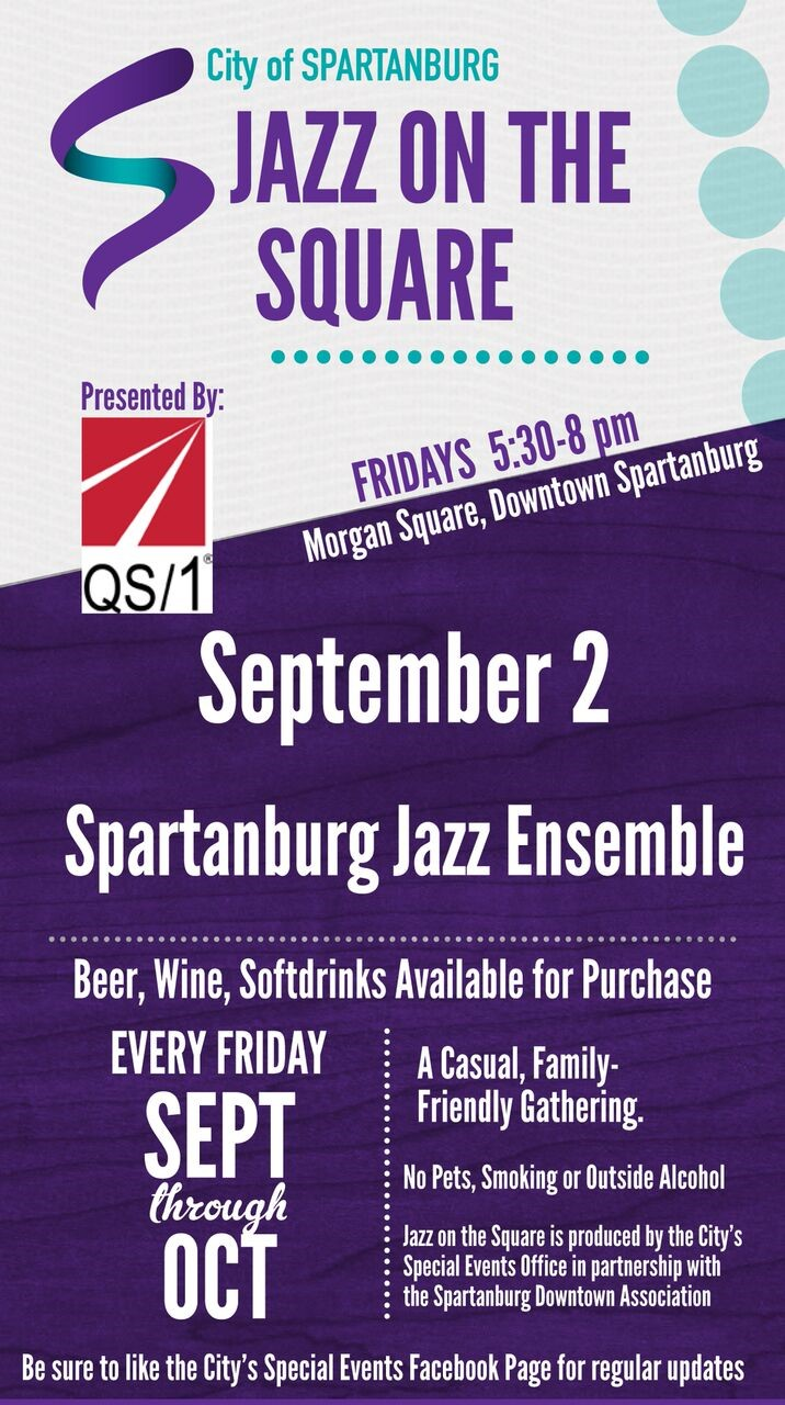 FRIDAY NIGHT 'JAZZ ON THE SQUARE' RETURNS