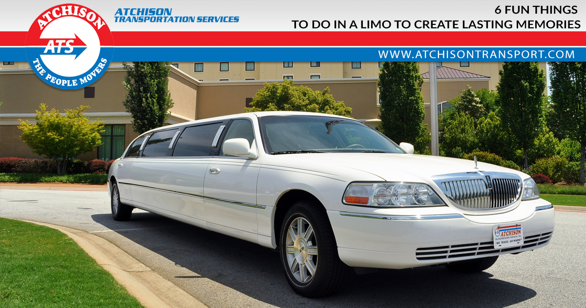 6 Fun Things To Do In A Limo To Create Lasting Memories