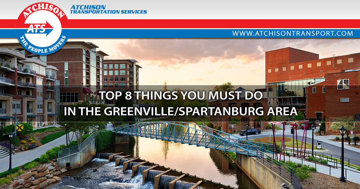 8 Things You Must to Do in the Greenville/Spartanburg Area