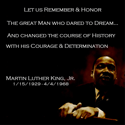 Martin Luther King, Jr.  1929-1968