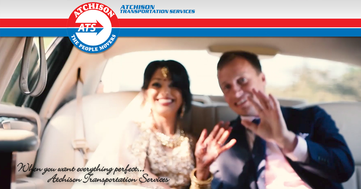Wedding Season Is Upon Us!  Book Your Wedding Transportation Today!
