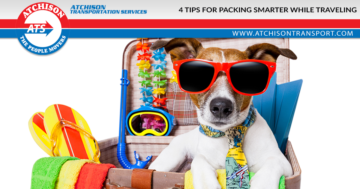 4 Tips for Packing Smarter While Traveling