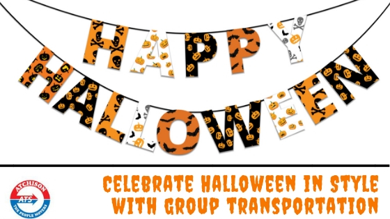 Celebrate Halloween in Style with Group Transportation