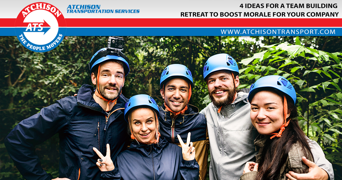 4 Ideas for a Team Building Retreat to Boost Morale for Your Company