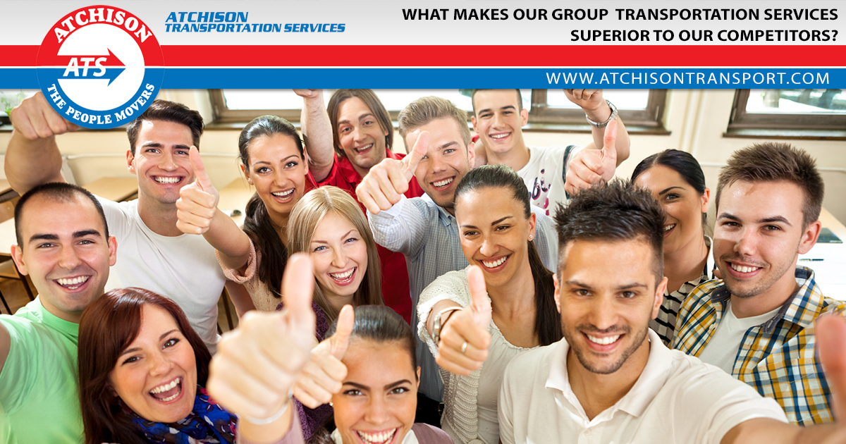 What Makes our Group Transportation Services Superior to our Competitors?