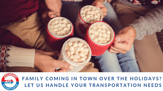 Airport Transportation – Family Coming into Town Over the Holidays?