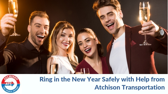 Ring in the New Year Safely with Holiday Transportation Services