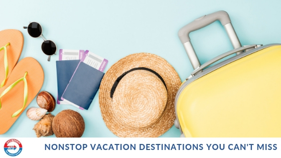 Nonstop Vacation Destinations & Airport Transportation