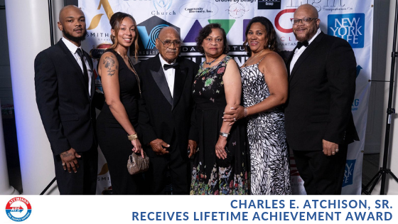 Charles E. Atchison, Sr. Recognized at Black Excellence Community Gala