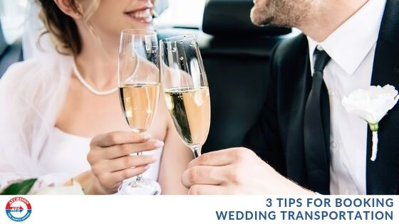 3 Tips for Booking Wedding Transportation