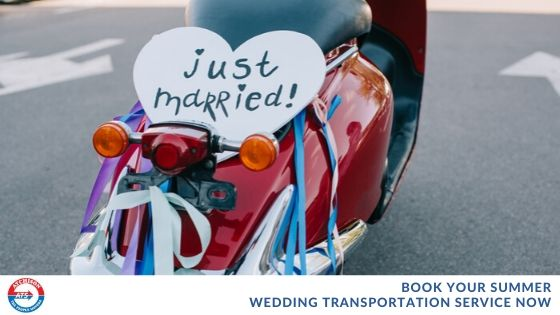 Book Your Summer Wedding Transportation