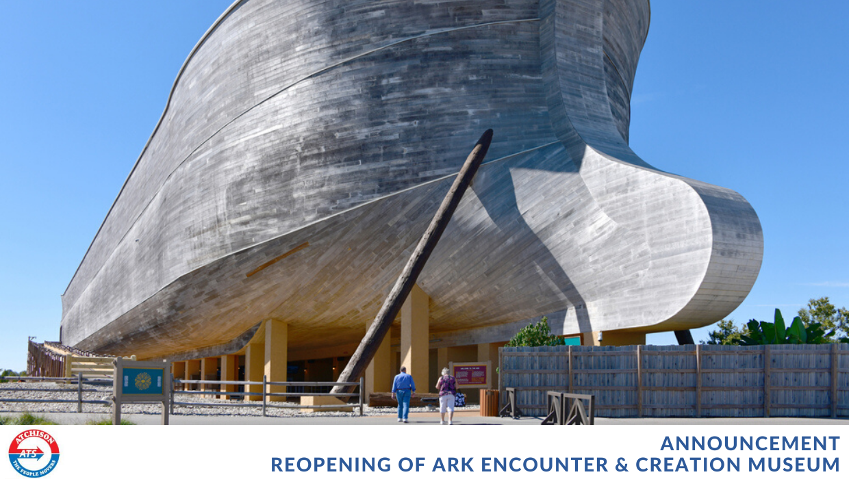 Ark Encounter & Creation Museum Set to Re-Open