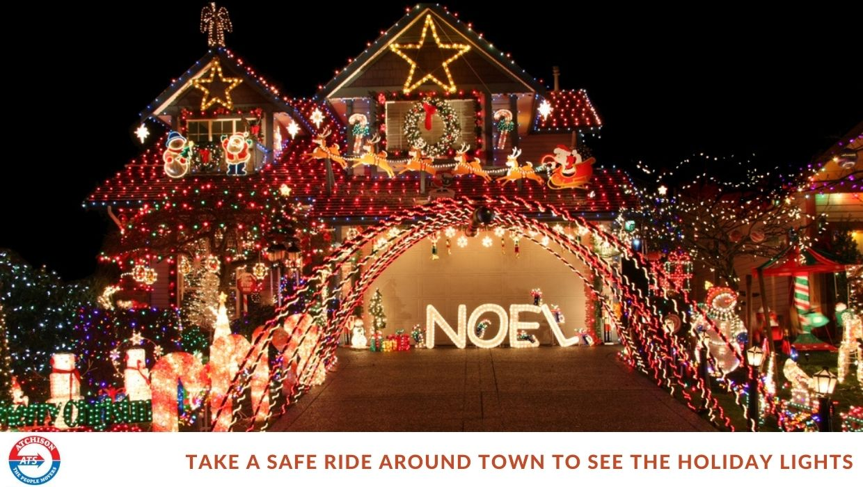 Enjoy the Lights This Holiday with Ground Transportation