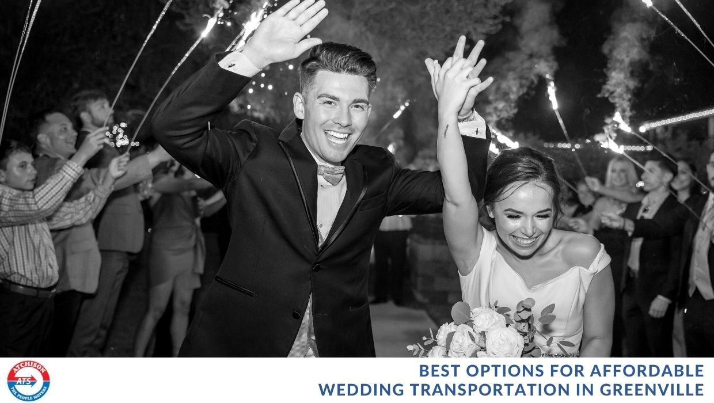 Affordable Wedding Transportation in Greenville